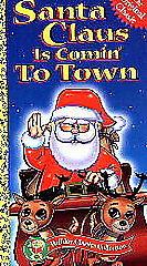 Santa-Claus-Is-Comin-to-Town-VHS-Jules-Bass-Arthur-Rankin-Jr-Very-Good-VHS
