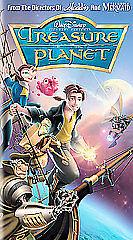treasure planet vhs 2003 786936200058 ebay