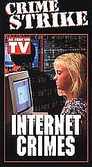 CRIME-STRIKE-Internet-Crimes-2001-Web-Wise-NEW-VHS