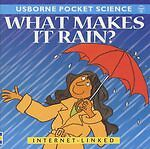 """AS NEW"" Mayes, Susan, What Makes it Rain? (Usborne Pocket Science) Book"