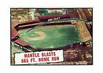 Mickey Mantle Original Single Baseball Cards