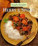 """""""AS NEW"""" SIMPLE DELIGHTS HERBS & SPICES, , Book"""