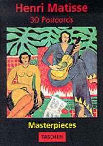 Henri Matisse Masterpieces PostcardBooks Taschen Publishing Very Good Book - Consett, United Kingdom - Henri Matisse Masterpieces PostcardBooks Taschen Publishing Very Good Book - Consett, United Kingdom