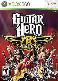 Guitar Hero: Aerosmith (Microsoft Xbox 360, 2008) New