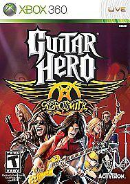 Guitar Hero: Aerosmith (Microsoft Xbox 360, 2008) New