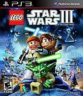LEGO Star Wars III: The Clone Wars (Sony PlayStation 3, 2011)