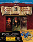 Pirates of the Caribbean Trilogy (Blu-ray Disc, 2011, 7-Disc Set, Canadian; French)