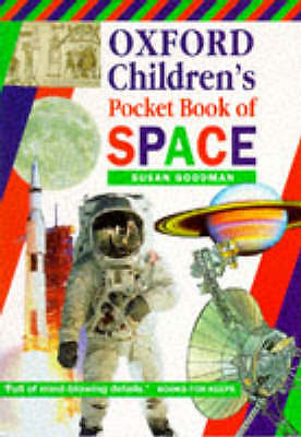 Oxford Children's Pocket Book of Space, Goodman, Susan, Very Good Book