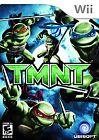 Teenage Mutant Ninja Turtles Nintendo Wii Video Games