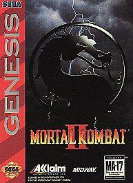 Mortal Kombat II (Sega Genesis, 1994) for sale online | eBay