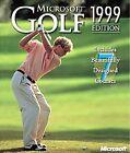 Microsoft Golf 1999 Edition (PC, 1999)
