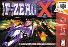 F-Zero X (Nintendo 64, 1998) - European Version