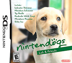 nintendo ds dog games