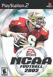 NCAA Football 2002 Playstation 2