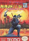 Ninja Gaiden 3 Nintendo NES Video Games