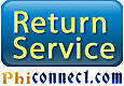 Featured application PhiConnect Return Service