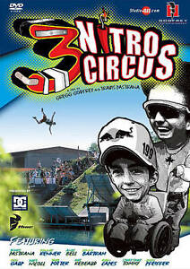 Nitro Circus 3 Motocross Travis Pastrana DVD Video, Good DVD, Nitro Team, Godfre - Deutschland - Nitro Circus 3 Motocross Travis Pastrana DVD Video, Good DVD, Nitro Team, Godfre - Deutschland