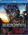 Transformers: Revenge of the Fallen (Blu-ray Disc, 2009, 2-Disc Set, Special Edition)