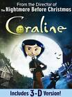 Coraline (DVD, 2009, Canadian)