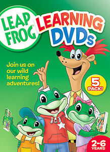 leap frog letter factory pre reading math circus dvds leapfrog 5 pack dvd 2006 letter factory math circus ebay 464