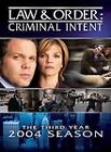 Law & Order: Criminal Intent - The Third Year (DVD, 2004, 3-Disc Set)