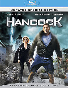 Hancock (Blu-ray, 2008, 2-Disc Set, Unrated Special Edition)