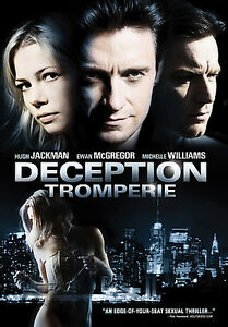 DECEPTION (DVD,2008) NEW