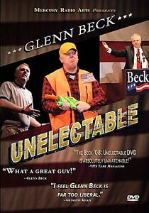 Glenn Beck - Unelectable (DVD, 2008)