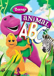 Barney Animal Abcs Dvd 2008 For Sale Online Ebay