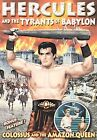 Colossus and the Amazon Queen/Hercules and the Tyrants of Babylon (DVD, 2007)