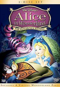 Alice in Wonderland (DVD, 2004, 2-Disc S...