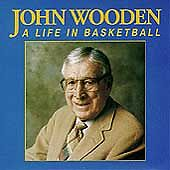 A Life in Basketball by John Wooden (Cas...
