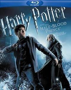 Harry Potter and the Half-Blood Prince (Blu-ray disc, 2009, USA)