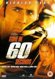 Gone In 60 Seconds (DVD, 2001).... R4