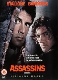 Assassins DVD 1998 action Sylvester Stallone Antonio Banderas - Oldbury, United Kingdom - Assassins DVD 1998 action Sylvester Stallone Antonio Banderas - Oldbury, United Kingdom