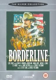 Borderline DVD Charles Bronson Bruno Kirby Jerrold Original UK Rel New Sealed R2