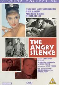THE ANGRY SILENCE - RICHARD ATTENBOROUGH - DVD - FREE AND FAST DELIVERY