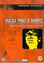 Dracula - Prince Of Darkness (DVD, 2001) ~ Christopher Lee ~ Very Good Condition