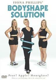 Fiona Phillips - The Bodyshape Solution (DVD, 2001)