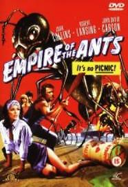 EMPIRE OF THE ANTS GENUINE R0 DVD JOAN COLLINS ROBERT LANSING NEW/SEALED