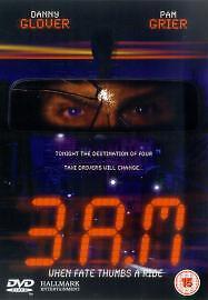 Danny Glover Pam Grier 3 A.M.  2001 Hallmark Crime Thriller DVD New & Sealed