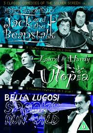 3 Classic Comedies Of The Silver Screen - Vol. 2 - Jack And The Beanstalk / Utop
