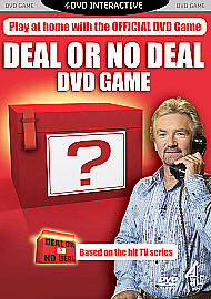 Deal or No Deal Interactive DVD Game Starring Noel Edmonds Interactive DVD - <span itemprop=availableAtOrFrom>Leicester, United Kingdom</span> - Returns accepted Most purchases from business sellers are protected by the Consumer Contract Regulations 2013 which give you the right to cancel the purchase within 14 days after the da - Leicester, United Kingdom