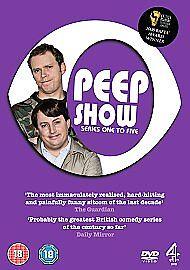 Peep-Show-Series-1-5-Complete-DVD-2008-5-Disc-Set-Box-Set