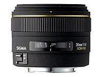 Sigma Sony E-mount Camera Lenses 30mm Focal