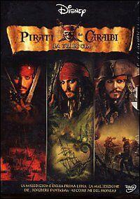 DVD-Pirati-dei-Caraibi-Jack-Sparrow-LA-TRILOGIA-COFANETTO-RARO-ITALIANO