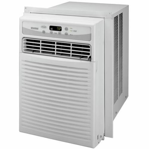 Energy Star window air conditioner with 6,000-BTU cooling capacityElectronic controls; 3 cool settings and 3 fan speeds; 24-hour on/off timerAll top-discharge