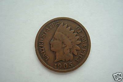 INDIANHEAD 1 CENT 1892 1907 GOOD CONDITION LIMIT ONE