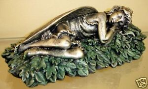 Sleeping-Fairy-Statue-Hand-Made-and-Colored-Art-New