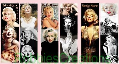3 Lot Marilyn Monroe Bookmarks Movie Pictures Poster